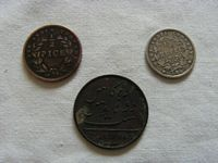 SET OF 3 VERY OLD COINS FROM THE EAST INDIA SHIPPING COMPANY