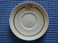 CHINA SAUCER FROM THE ETHIOPIAN LINE SHIPPING COMPANY