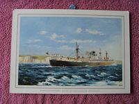 SUPERB PRINT OF THE HARRISON LINE VESSEL 'THE SUCCESSOR'