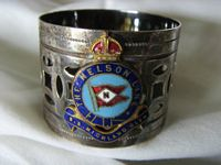 VERY, VERY RARE TO FIND NAPKIN RING FROM THE NELSON LINE VESSEL THE HIGHLAND GLEN