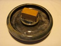 VERY EARLY STYLE & EXCELLENT CONDITION LOUNGE ASHTRAY FROM THE P&O LINE