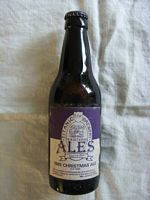 BOTTLE OF ALE FROM THE TITANIC BREWERY IN THE POTTERIES, UK DATED 1985