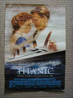 ORIGINAL 1997 LARGE SIZE POSTER OF TITANIC MOVIE