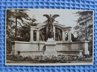 OLD AND ORIGINAL SEPIA POSTCARD OF THE TITANIC ENGINEERS MEMORIAL, SOUTHAMPTON