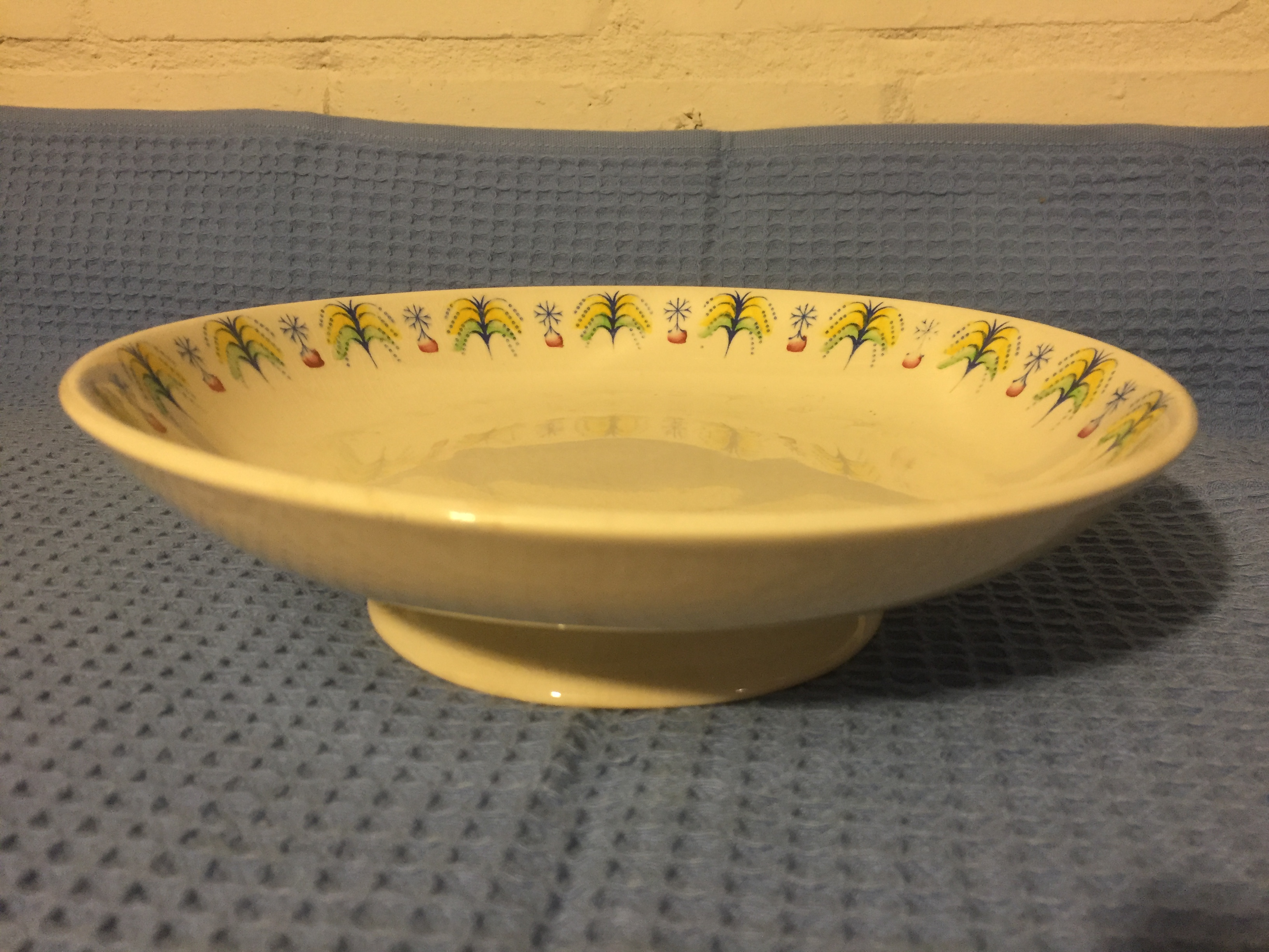 VERY EARLY 1920'S DESIGN CAKE STAND FROM THE UNION CASTLE LINE