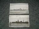 2 SCARCE OLD PHOTOGRAPHS OF 2 UNION LINE VESSELS