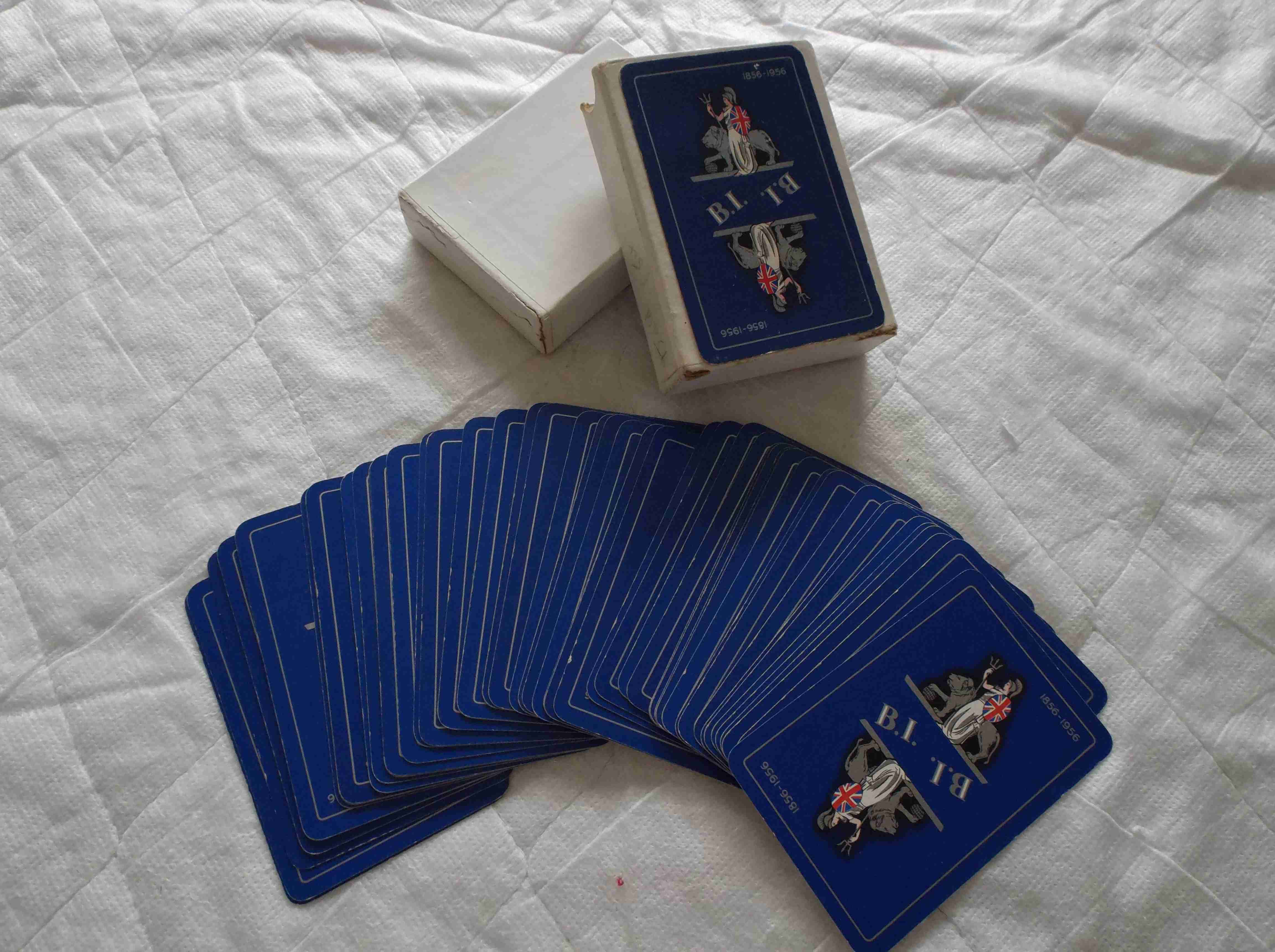 SET OF SOUVENIR PLAYING CARDS FROM THE BRITISH INDIA STEAM NAVIGATION COMPANY