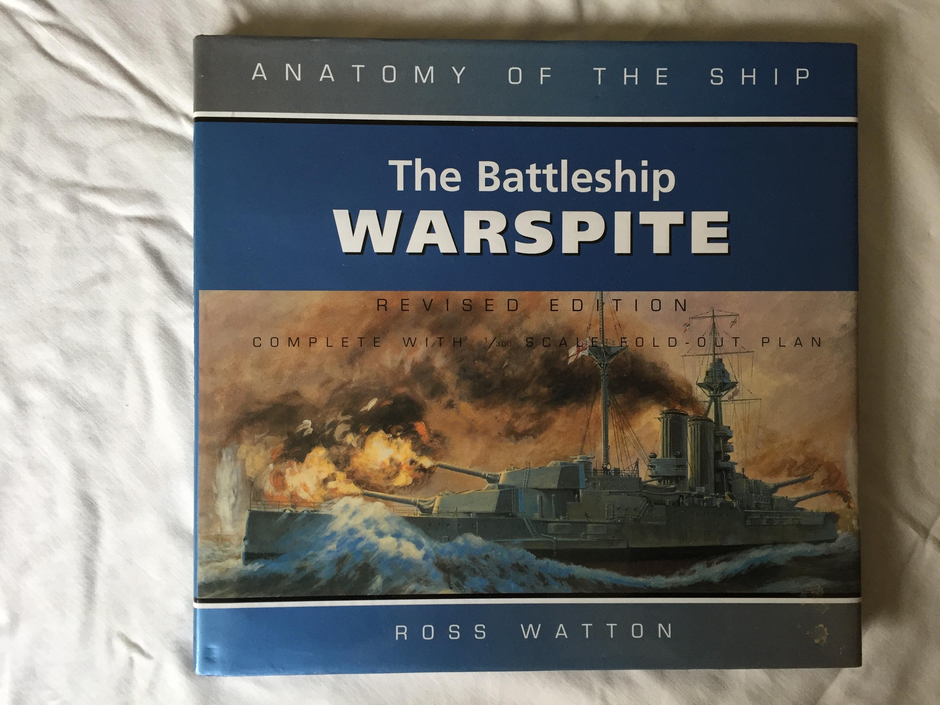 FANTASTIC BOOK 'THE BATTLESHIP WARSPITE' BY ROSS WATTON