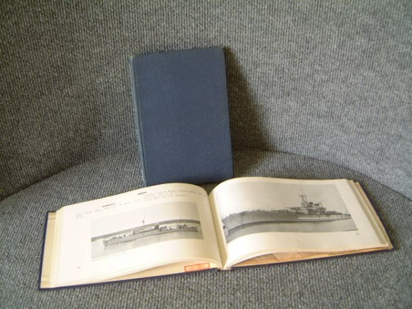 PAIR OF SUPERB OLD ROYAL NAVAL BOOKS FROM 1940's