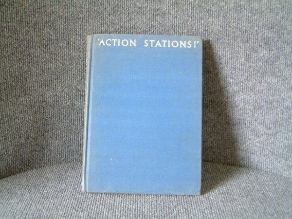 SUPERB OLD NAVAL WARTIME BOOK FROM 1941