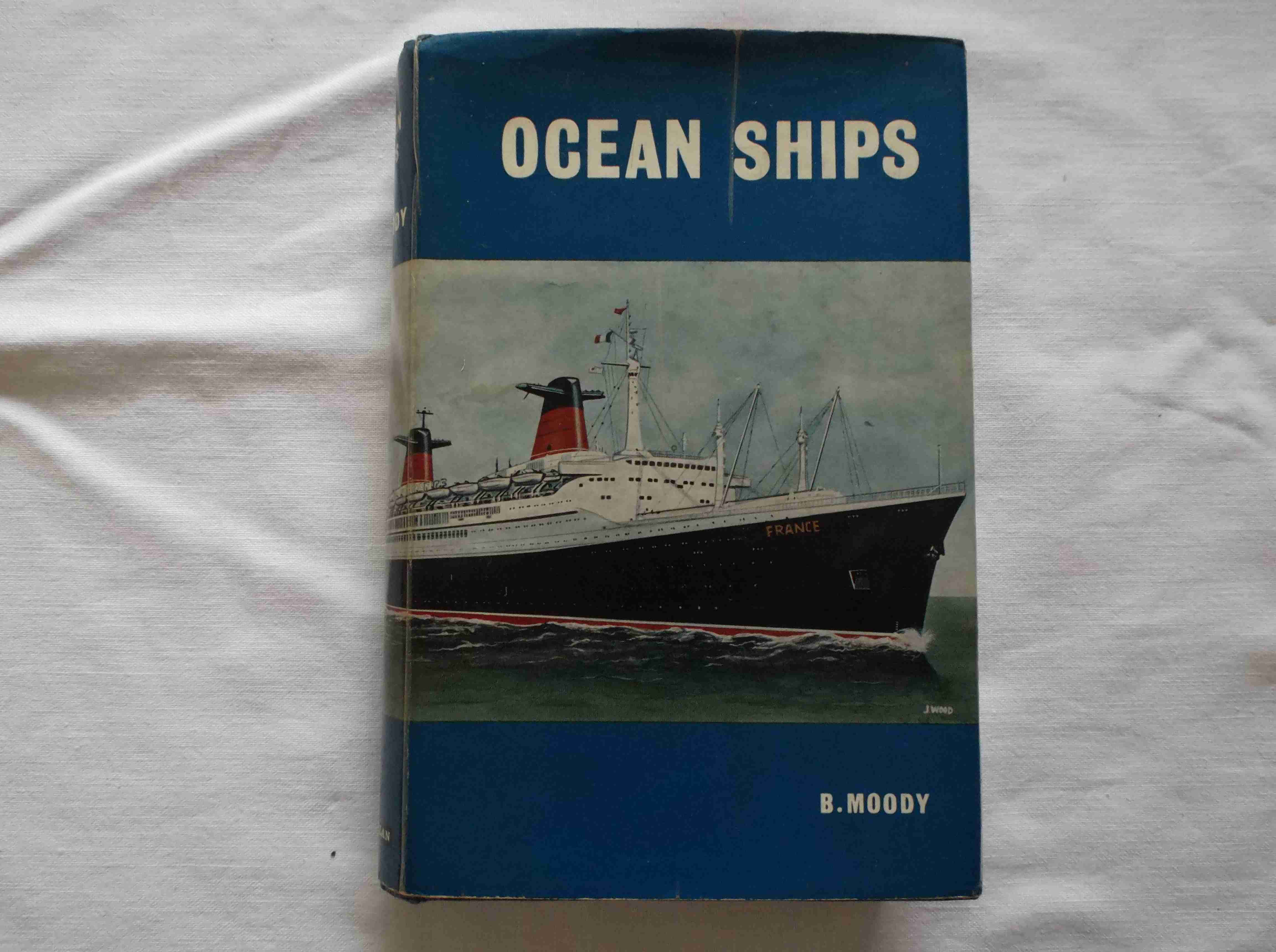 RARE MARITIME BOOK FROM THE 'OCEAN SHIPS' COLLECTION DATED 1964