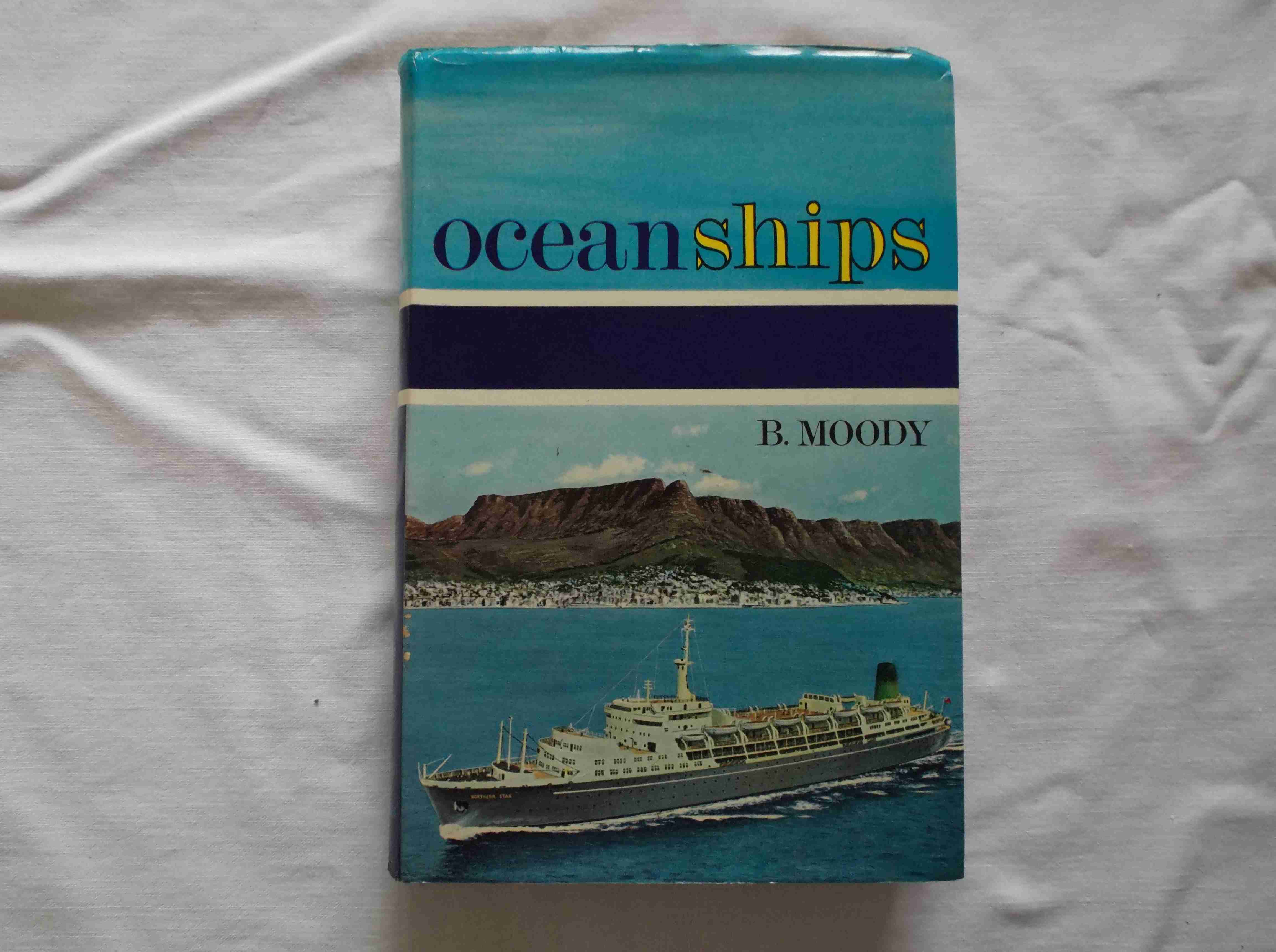 RARE MARITIME BOOK FROM THE 'OCEAN SHIPS' COLLECTION DATED 1966