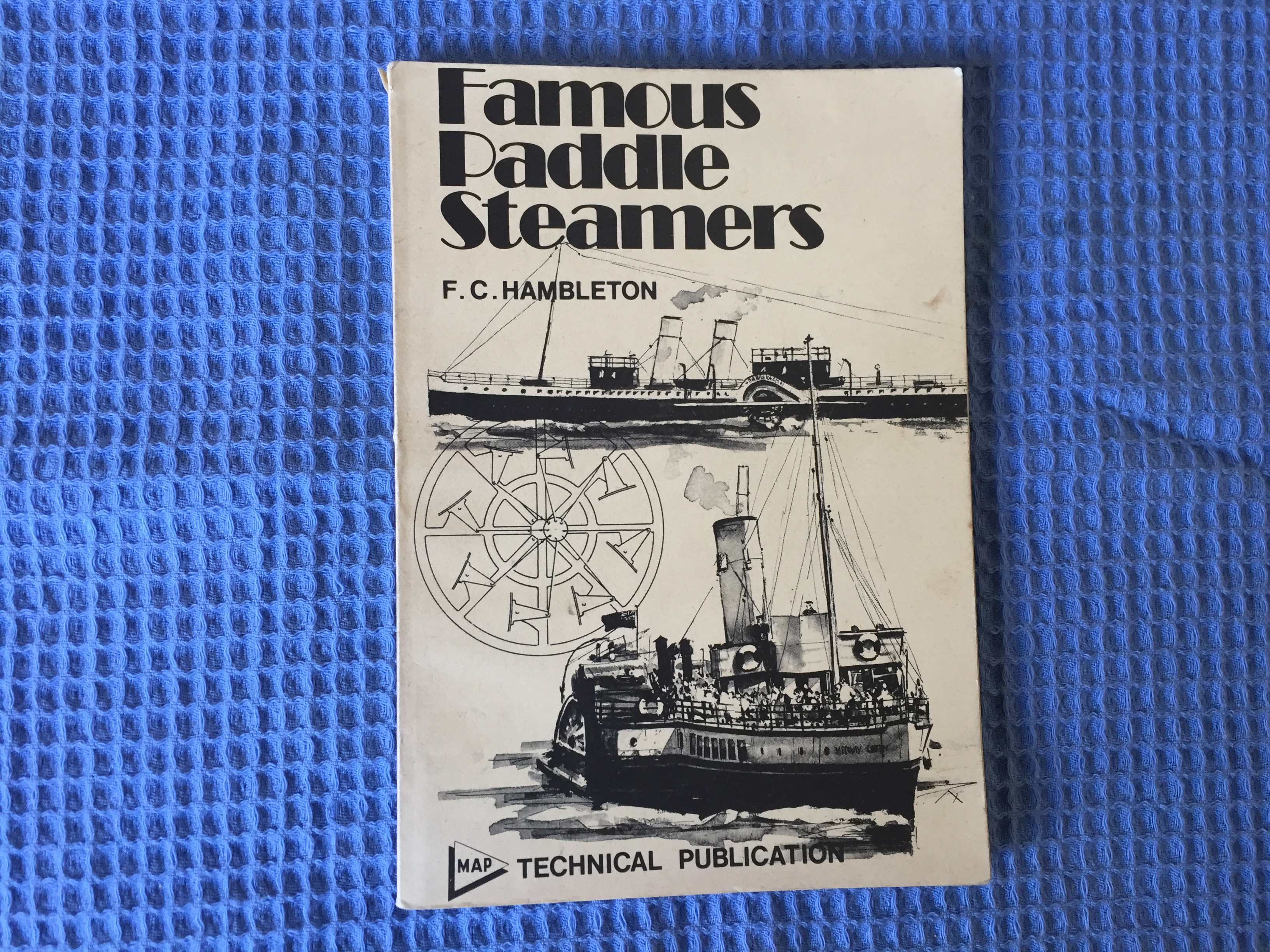 EARLY PADDLE STEAMERS BOOKLET FROM F.C. HAMBLETON