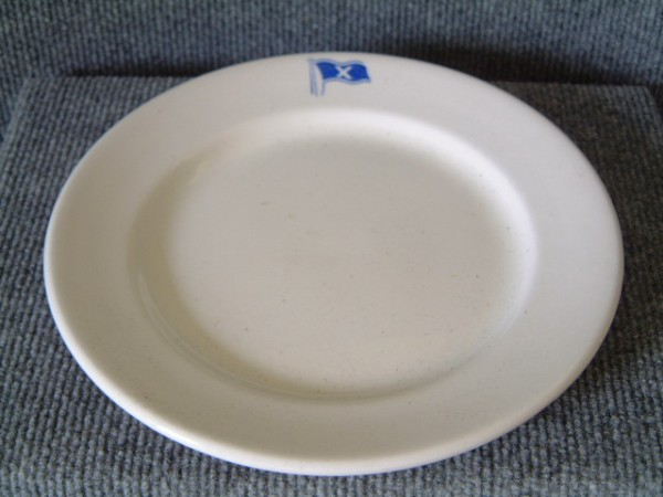 ORIGINAL SHIPS DINING PLATE FROM THE CHANDRIS LINE