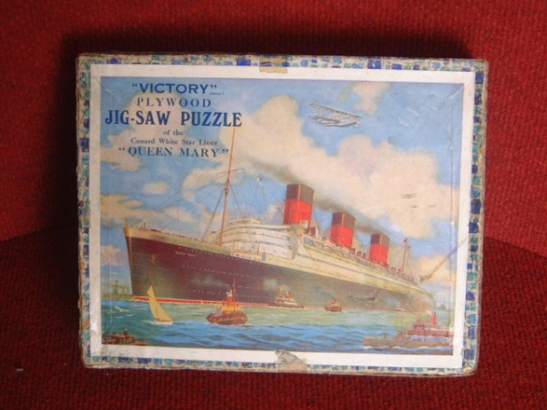 VICTORY JIGSAW OF THE LINER RMS QUEEN MARY