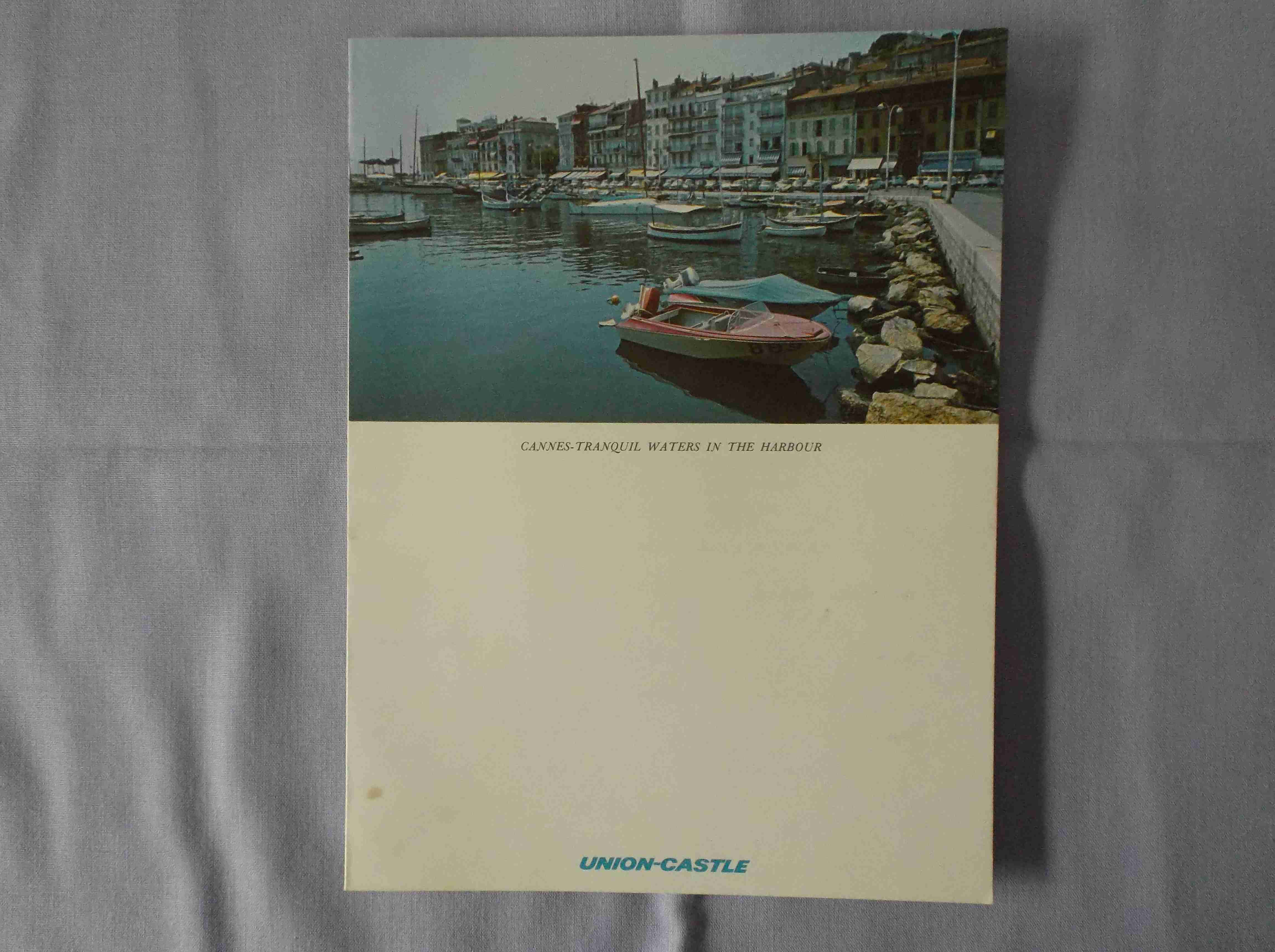LUNCHEON MENU FROM THE FURNESS WITHY LINE VESSEL THE SS REINA DEL MAR DATED MARCH 1969
