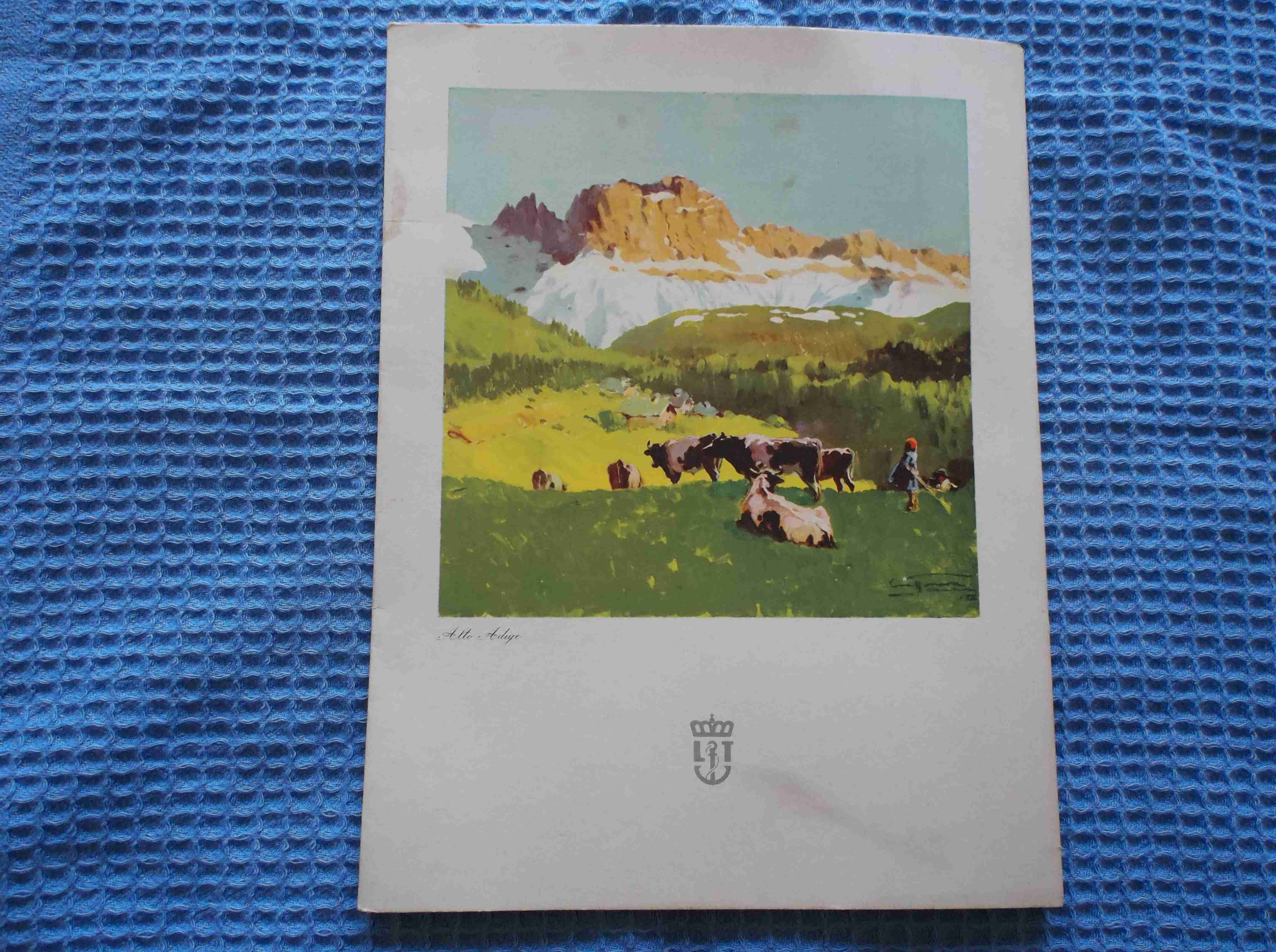 RARE SHIPS DINNER MENU FROM THE ROTTERDAM LLOYD VESSEL THE TMV WILLIAM RUYS DATED 1954