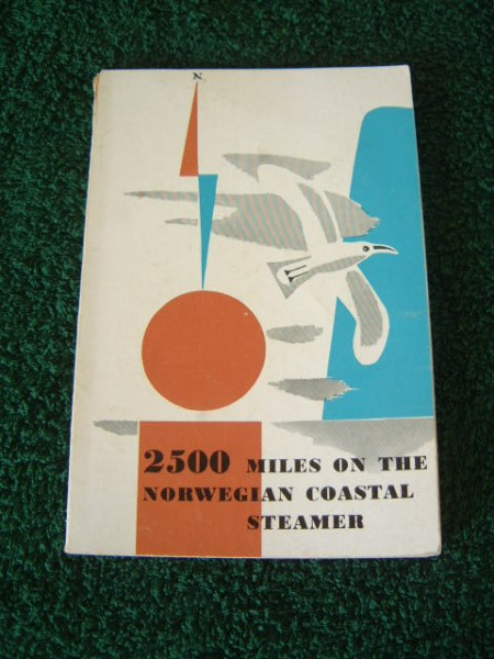 EARLY SHIP'S BOOKLET FROM THE BERGEN LINE DATED 1950