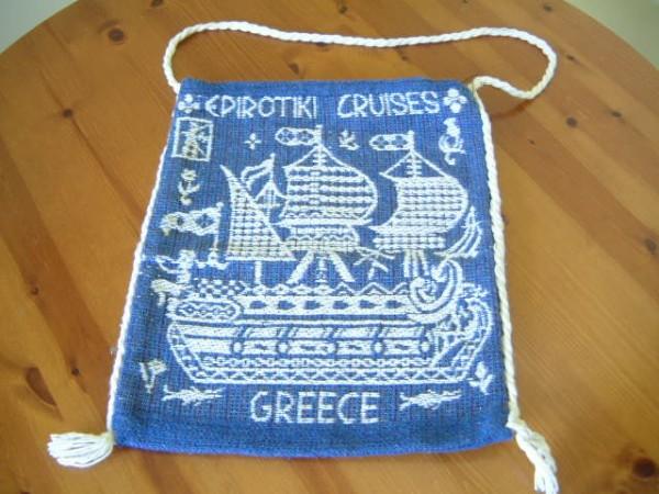 SOUVENIR BAG FROM THE GREEK SHIPPING LINE 'EPIROTIKI' COMPANY