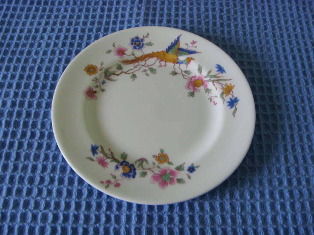 SMALL SIDE PLATE FROM THE FURNESS BERMUDA LINE SHIPPING COMPANY