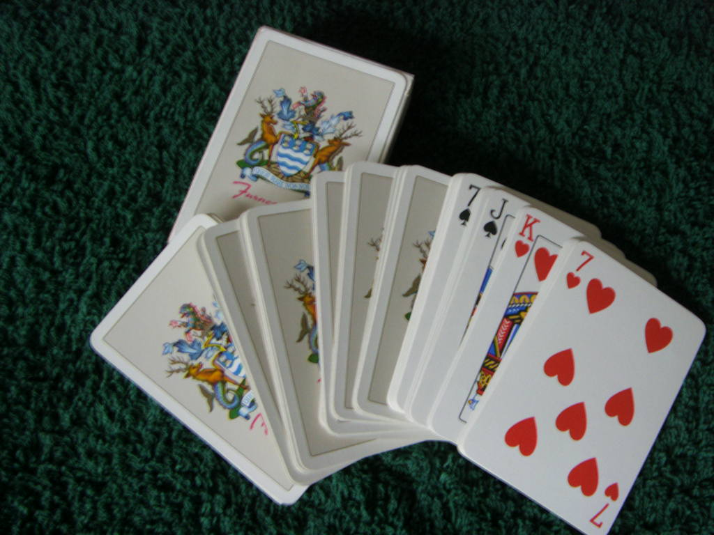 SET OF OLD PLAYING CARDS FROM THE FURNESS LINES SHIPPING COMPANY