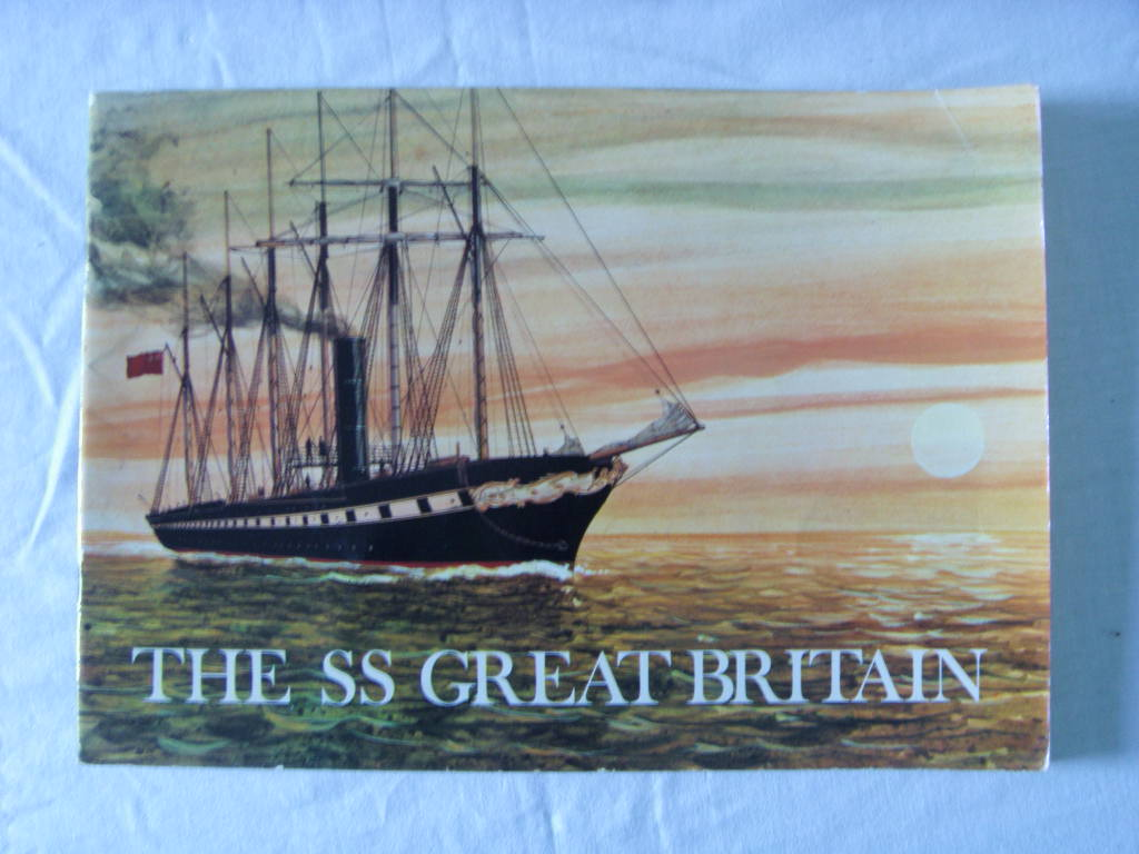 BOOKLET FROM THE FAMOUS OLD VESSEL THE SS GREAT BRITAIN