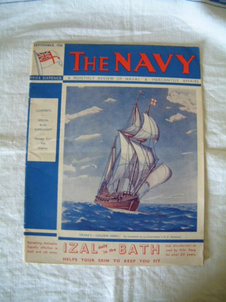 SUPERB EARLY NAVAL BOOK FROM 1936