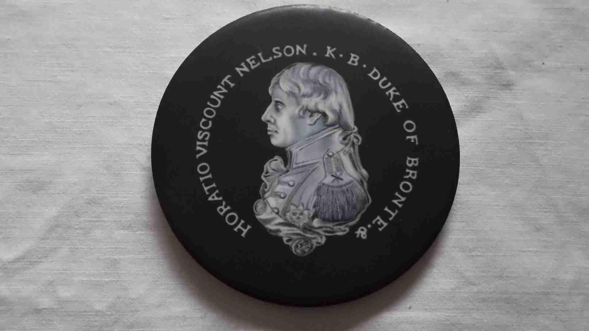SOUVENIR COASTER MAT OF LORD HORAIO NELSON