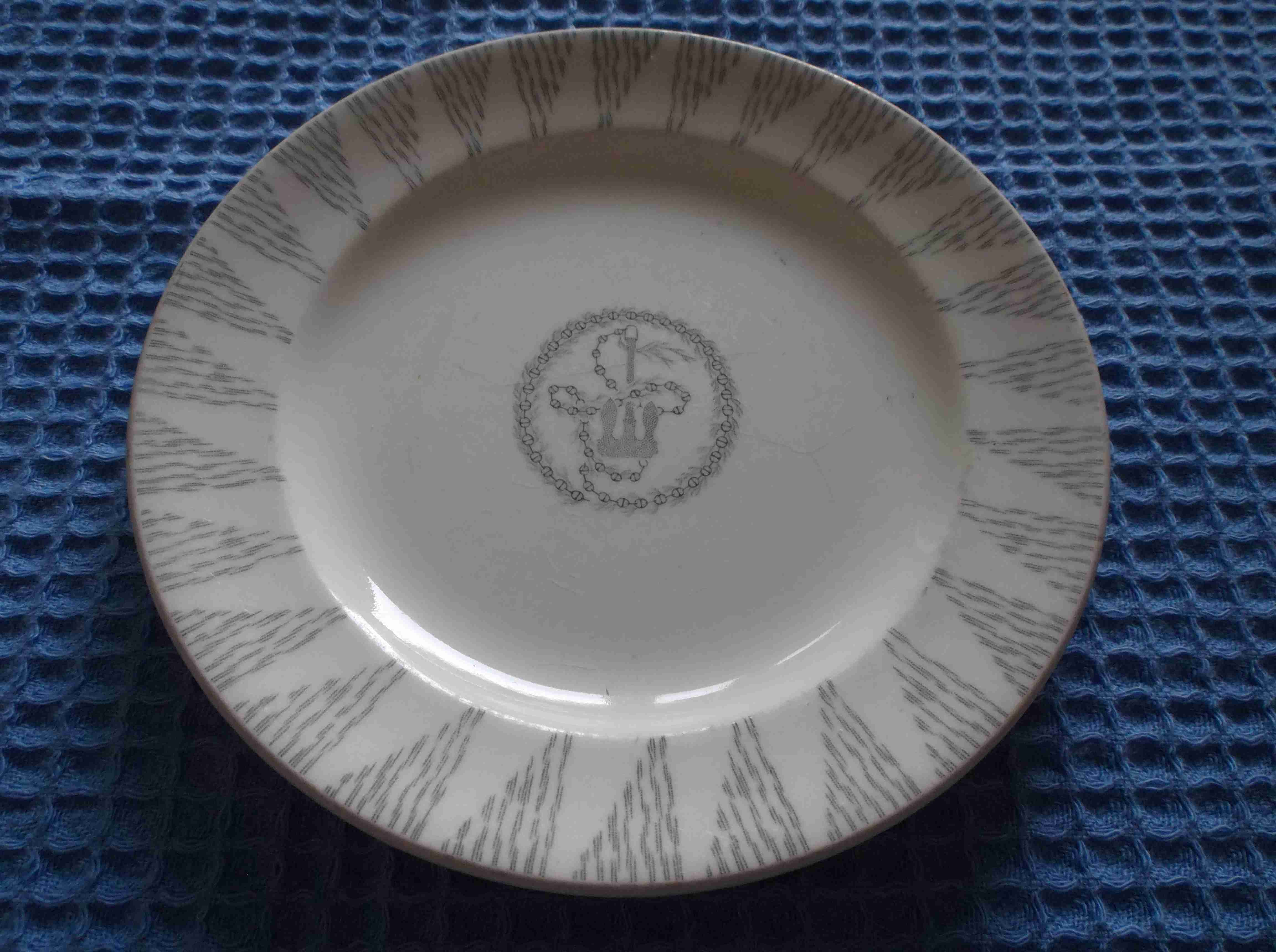 AS USED IN SERVICE ORIENT LINE SHIPPING COMPANY DINING PLATE